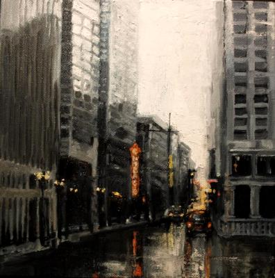 Chicago-waking up with the city